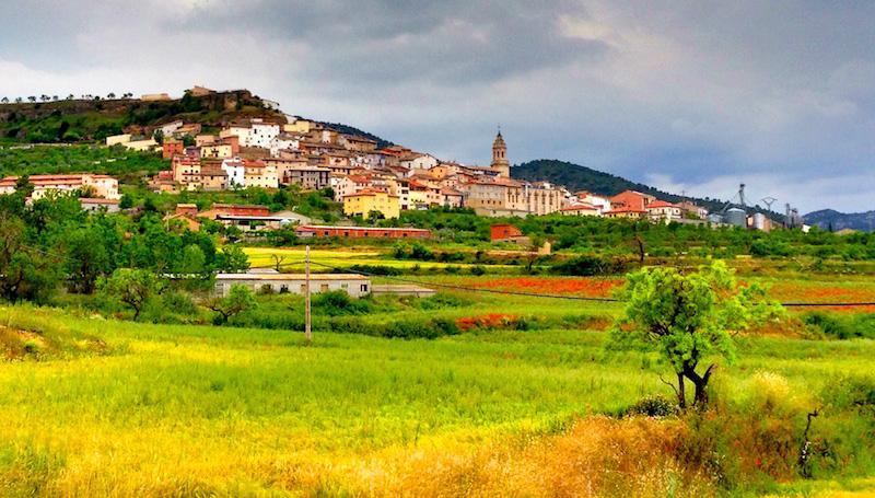 Vista de Valderrobres, uno de los pueblos más bonitos de España