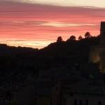 Matarranya-castillo-atardecer