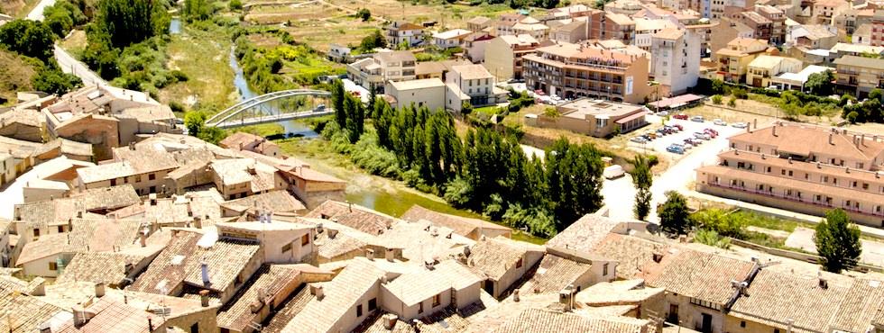 Valderrobres visto desde el castillo